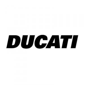 2x pegatinas  Ducati estandar