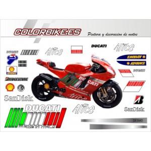 Kit Ducati MotoGP Valencia 2007