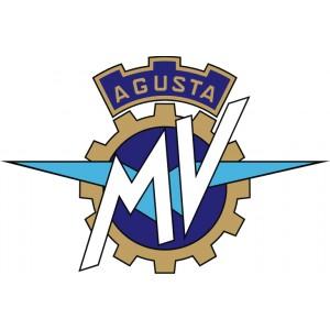 2x Pegatinas MV Agusta logo