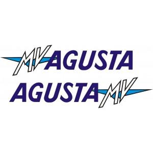 2x Pegatinas MV Agusta
