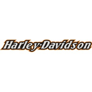 2x Pegatinas logo Harley nuevo 2