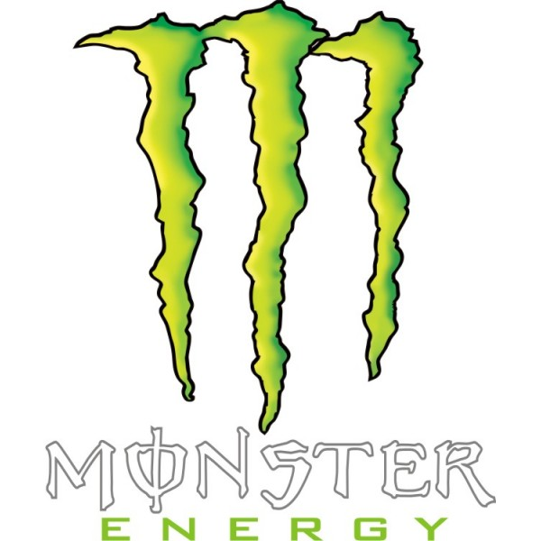 Pegatina Garras Monster Energy Varios Coloresdisponibles