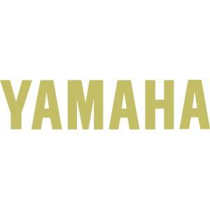 2 Logos Yamaha letras oro