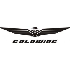 2x Pegatinas logo Goldwing