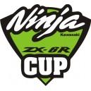 Pegatina Kawasaki Ninja CUP