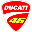 Logo Escudo Ducati 2
