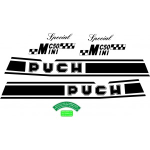 Pegatinas Puch Minicross 50
