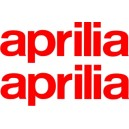 Pegatinas logo Aprilia
