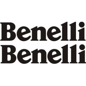 2x Pegatinas Benelli logo