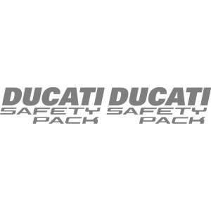 2x Pegatinas Ducati Safety Pack