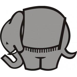 Logo Elefante Cagiva