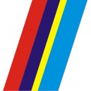 Pegatina bandera Peugeot Sport