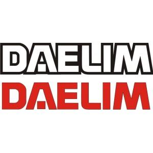 2x Pegatinas Daelim