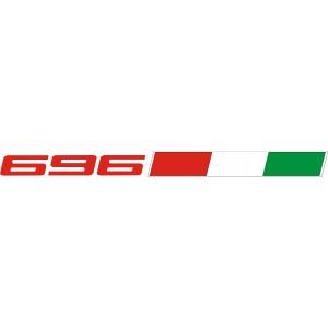 2x  Pegatinas Ducati 696 Italia