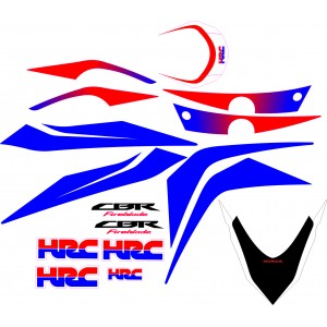 Kit Pegatinas CBR 1000RR HRC -2009-2012
