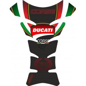Protector deposito Ducati Corse Black