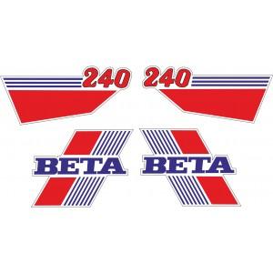 Pegatinas Beta 240