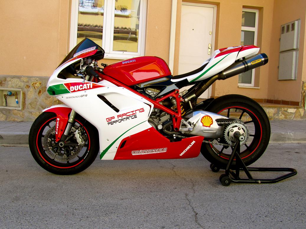 Rotulacion Ducati 848
